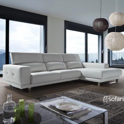 sofa 3 plazas en piel