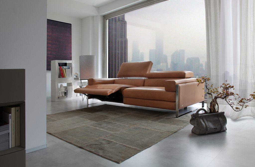 sofa en piel Romeo
