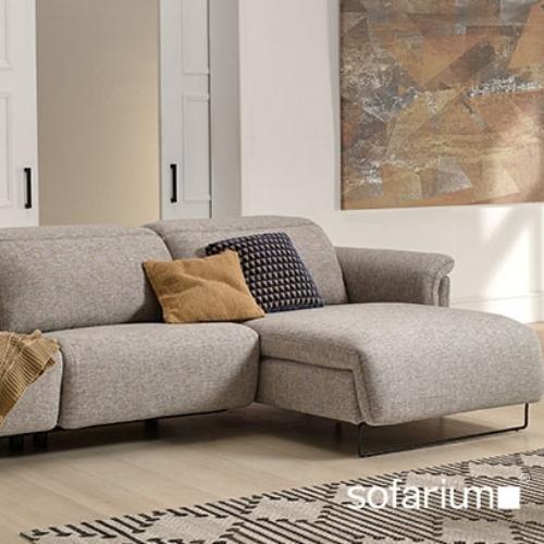 sofa en tela de 3 plazas ash