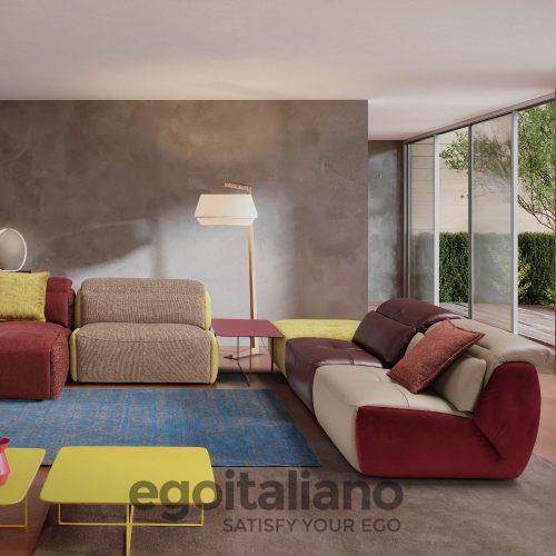 sofa con chaise longue siena